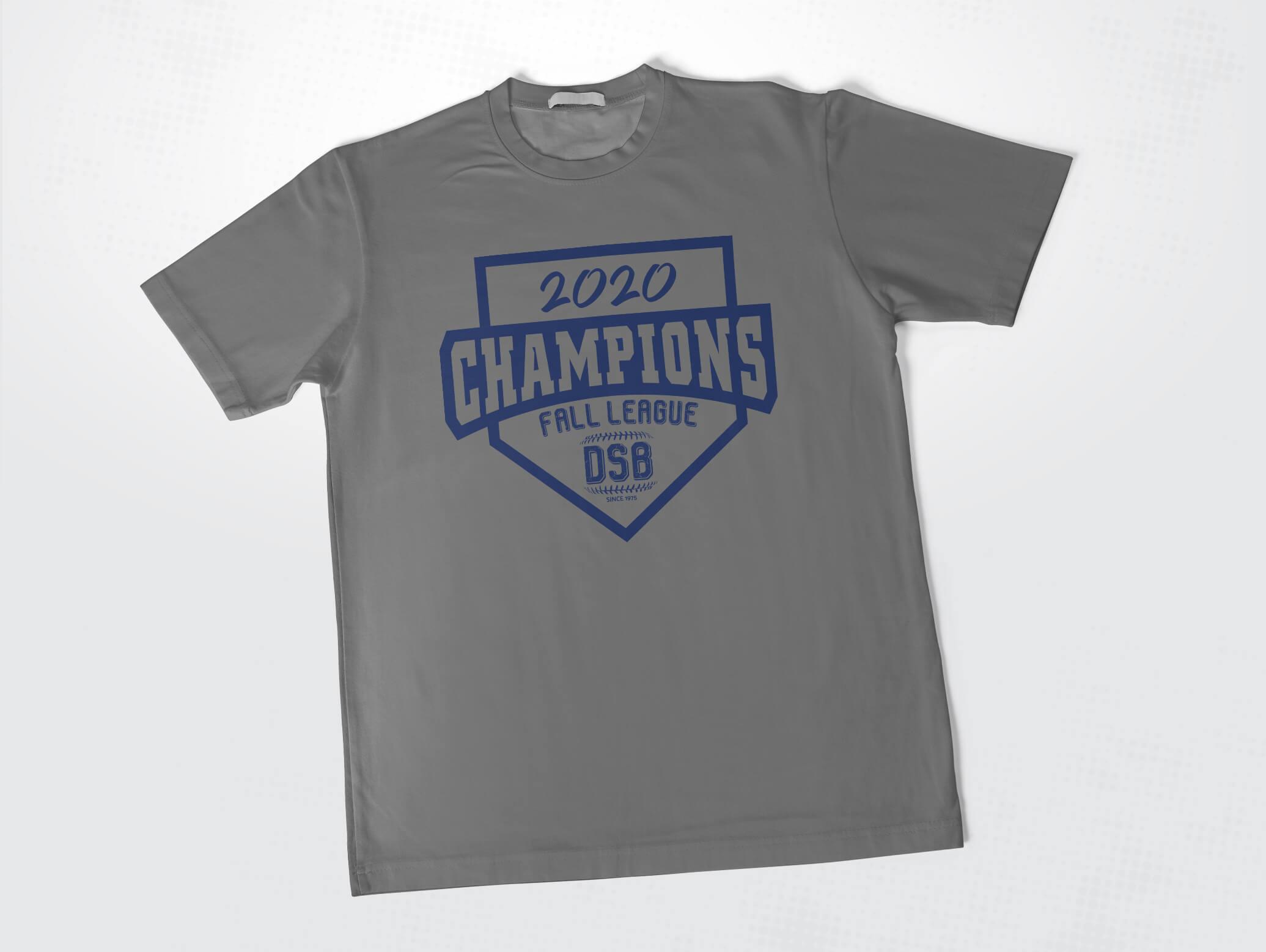 dunwoody senior baseball league t-shirt