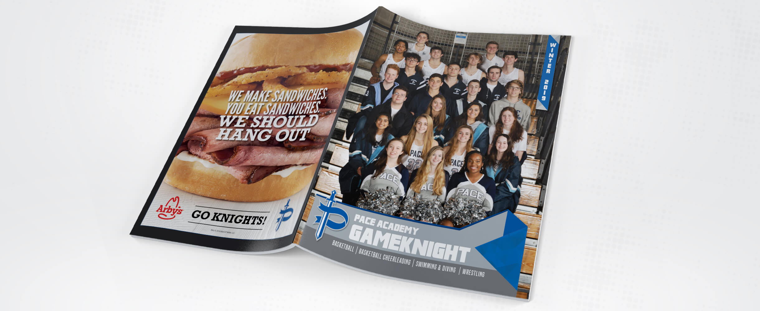 pace academy sports program cover